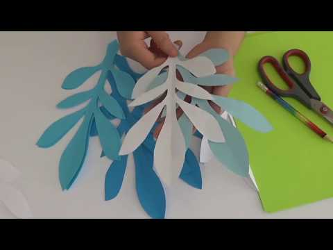 Handmade Paper Leaf Tutorial