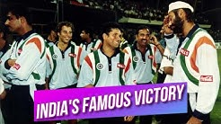 The Indians had a victory over New Zealand at Sharjah | 1st Match Champions Trophy 1998 Highlights