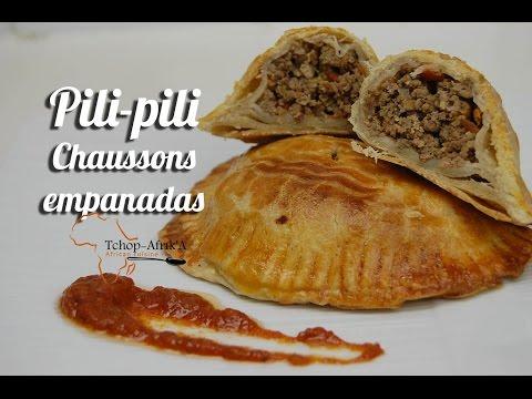 empanadas-/-chaussons/-pili-pili-à-la-viande-hachée