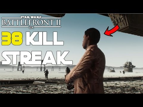 Download Youtube: 38 FINN KILLSTREAK - Star Wars Battlefront 2