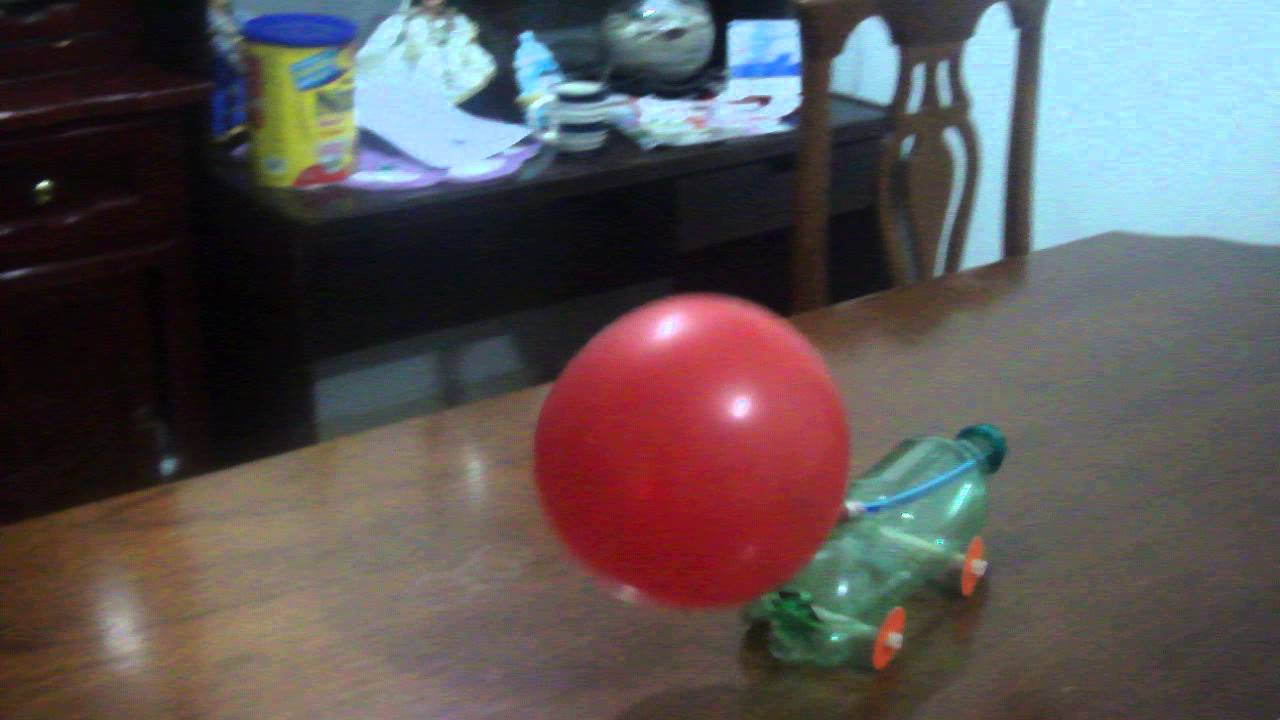 Experimento Carro Con Globo Youtube