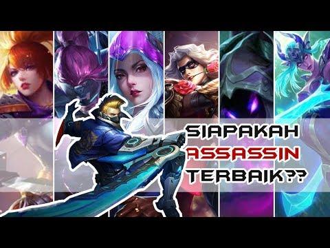 Inilah Hero Assassin terbaik di Mobile Legend ??