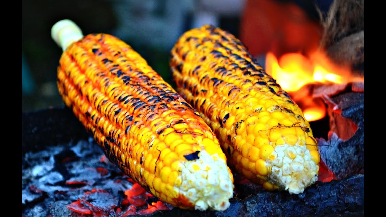 Pulled Pork Gasgrill Jagung : Jagung bakar pantai sanur u sweet corn barbeque u wisata kuliner