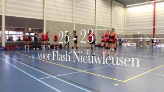 Flash Nieuwleusen DS 1- Smash Beilen Ds 1 3e divisie 2017