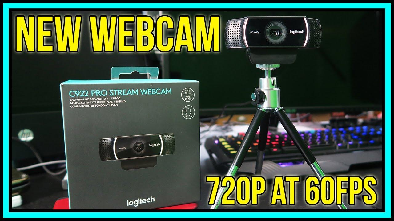 Logitech C922 Pro Stream Webcam [720p 60fps Chroma Key Demo] - YouTube
