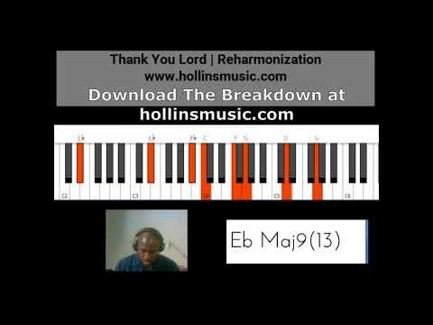Thank You Lord | Piano Reharmonization
