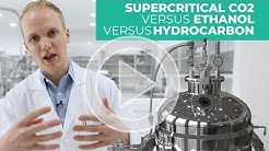 Cannabis Extraction Explained: Ethanol vs. Supercritical CO2 vs Hydrocarbon Extraction