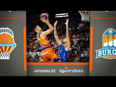 Valencia Basket - San Pablo Burgos (95-66) RESUMEN | Liga Endesa 2019-20