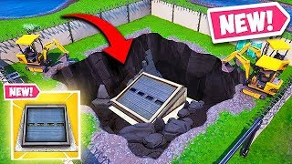 THE SECRET METAL DOOR UNDER LOOT LAKE! - Fortnite Funny Fails and WTF Moments! #520