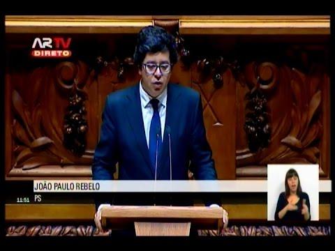 Intervenção do Deputado João Paulo Rebelo