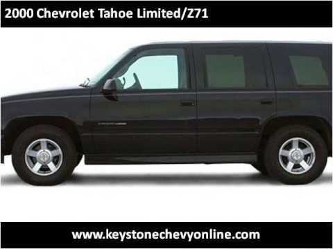 Keystone Chevrolet Sand Springs >> 2000 Chevrolet Tahoe Limited/Z71 Used Cars Sand Springs OK ...