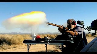 1300 Yards Black Powder Whitworth Muzzleloader