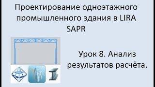Проектирование одноэтажного промышленного здания в Lira Sapr Урок 8