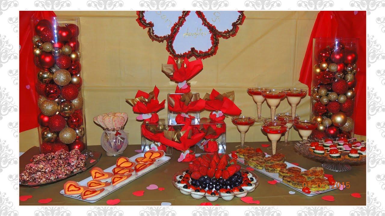 DIY Valentine's Day Family Love Party Ideas / centerpiece ...