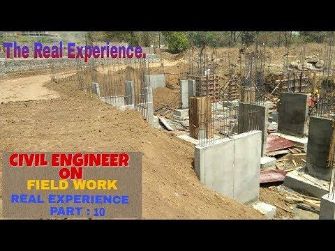 CIVIL ENGINEER SITE, FIELD, EXPERIENCE. Part = 10