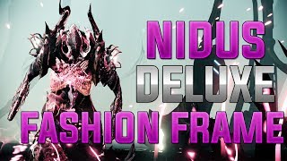 WARFRAME: NIDUS DELUXE FASHION FRAME