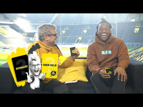 """Michy Batshuayi takes on Nobby 