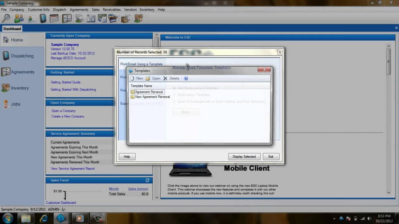 ESC Reporting Essentials - Using Word Processor Templates - YouTube