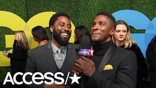 John David Washington Reveals How He & Denzel Reacted To His Golden Globe Nom   Access