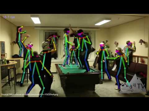 Realtime Multi-Person 2D Human Pose Estimation using Part Affinity Fields, CVPR 2017 Oral