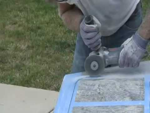 How To Cut U0026 Polish Granite Countertop DIY   Undermount Sink