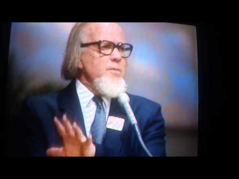 Pt 1 of 2 Listen to this Important Message by Francis Schaeffer