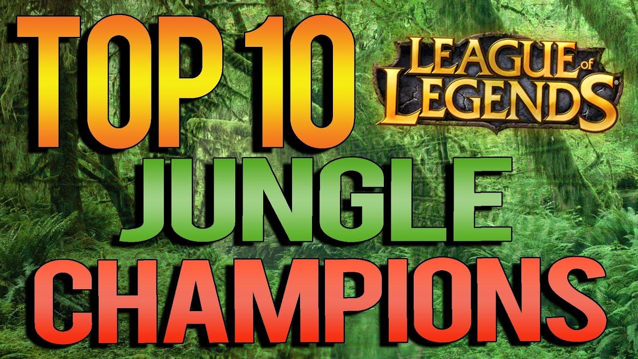Top 10 Jungle Champions