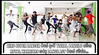 Tishal Pansilu - Hiru Super Dancer - Sunday Class Time - Royal warriors - Nadeesh - Sri Lanka 🇱🇰 Thumbnail