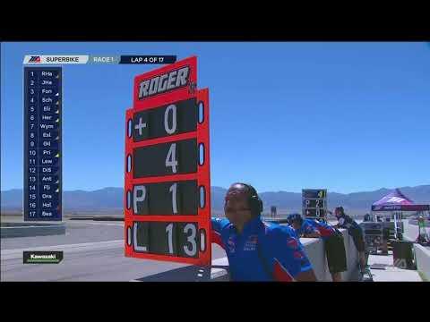 FULL RACE : Motul Superbike Race 1 from Utah Motorsports Campus