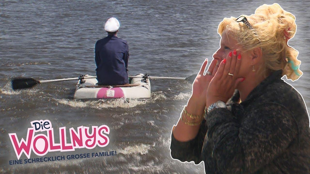 Kapitän Schlauchboot sticht in See 🛶🌊 | Folge 99 | Die Wollnys | RTLZWEI