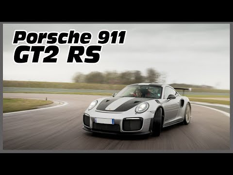 2018 Porsche 911 GT2 RS - Test on wet track (ESC off !)