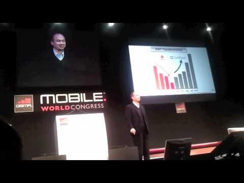 CEO of Softbank Masayoshi Son's keynote at MWC - Part 2