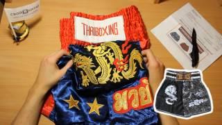 видео Шорты для тайского бокса