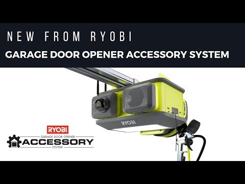 ULTRA-QUIET GARAGE DOOR OPENER | RYOBI Tools