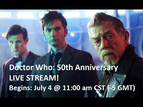 "(DDW) Live Stream Reaction: ""The Day Of The Doctor"" (50th Anniversary)"