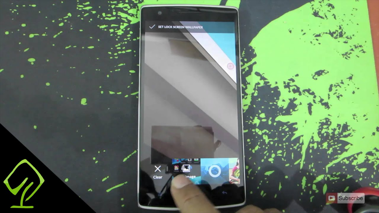How To Change Lock Screen Wallpaper On OnePlus One Or Any Device Running CyanogenMod 11 OS