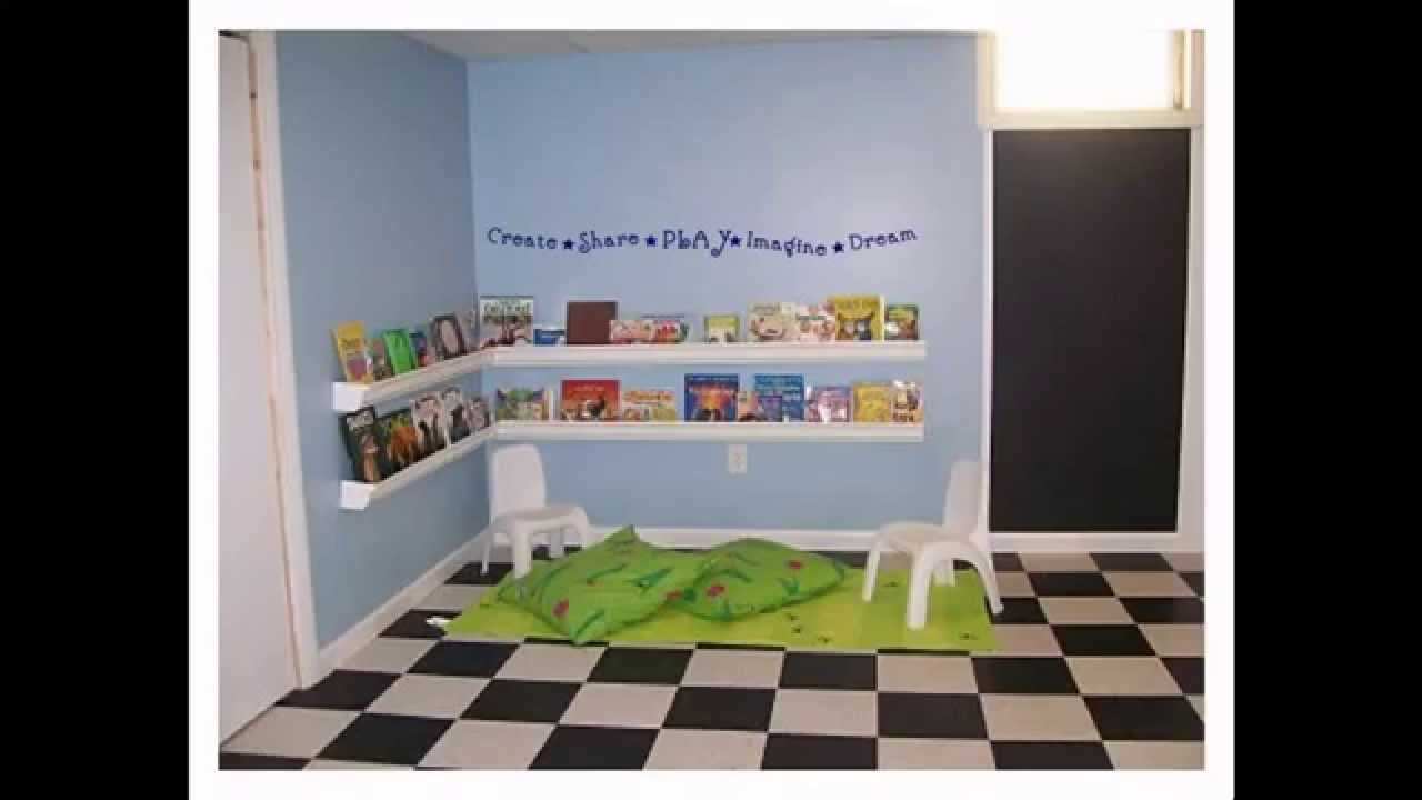 Simple home daycare decor ideas youtube for Minimalist home decorating ideas