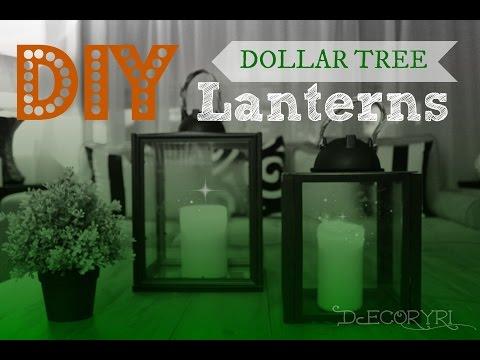 DIY Glass Lanterns!
