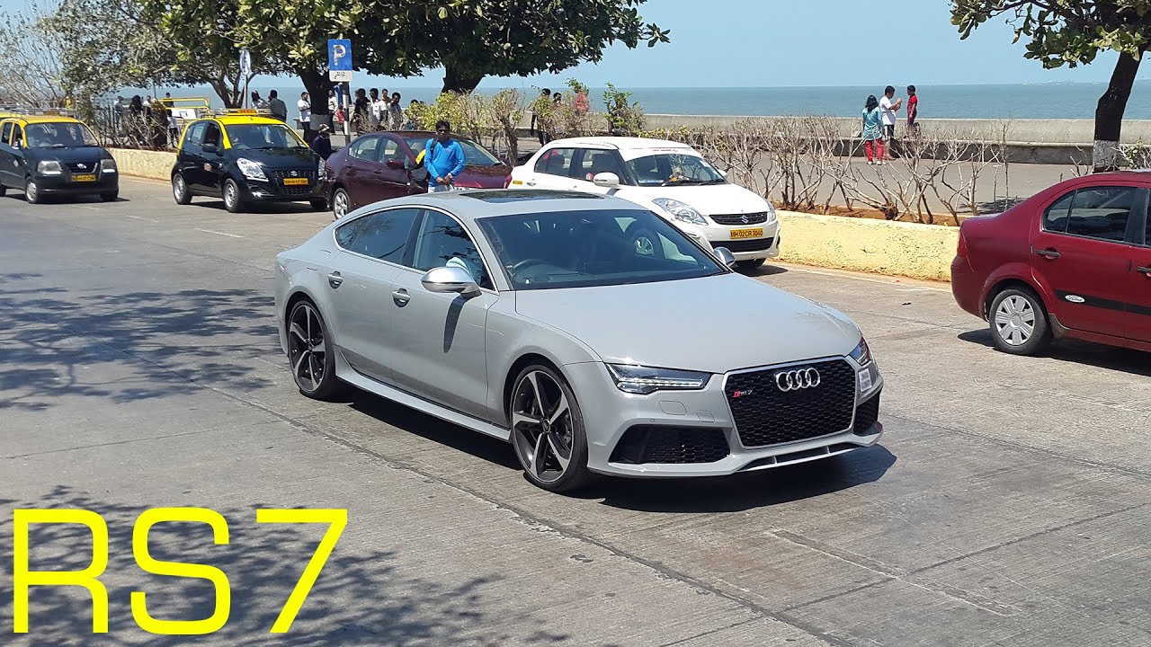 Audi Rs7 Nardo Grey >> NARDO GREY AUDI RS7 | WALKAROUND & REVS - YouTube