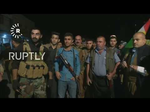 LIVE from Kirkuk as Iraqi army advances into the Kurdish-held city