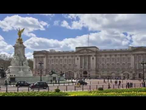 London  Buckingham Palace  Video tourist guide HD