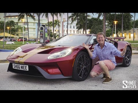 Crazy Reactions to My Ford GT in Miami!