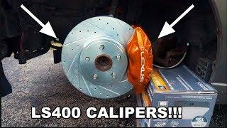 big brake upgrade ls400 brake conversion on is300