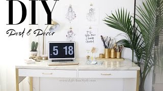 5 EASY DIY Desk Decor & Organization IKEA Hacks ANN LE