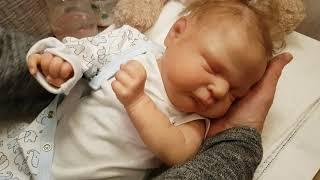 Reborn baby Ramsey by Cassie Brace