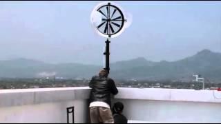 Wind Lens Turbine 500watt Telkom University By Ray