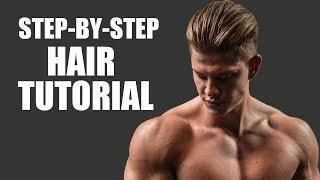 Undercut Hair Tutorial - Men's Hairstyling