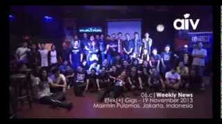 ASIA INDIE VIDEO (AIV NEWS 06C) EFEK(+) GIGS