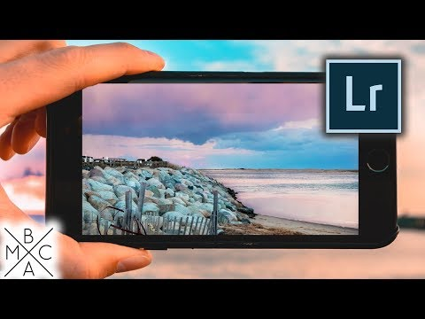 LIGHTROOM MOBILE: How To EASILY Edit Photos LIKE A PRO! 📱