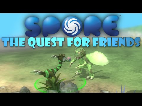 THE QUEST FOR FRIENDS! Spore Galactic Adventures! [2]